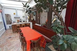 Le Duplex : ...oder ein großer Tisch, um Ihre Kunden, Gäste oder Freunde empfangen