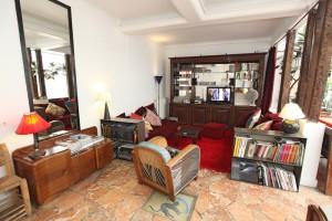 Le duplex : Wohnzimmer