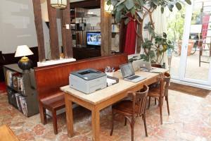Le Duplex : ein Arbeitsraum...