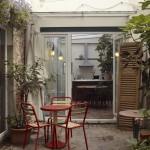 Le duplex : le jardin